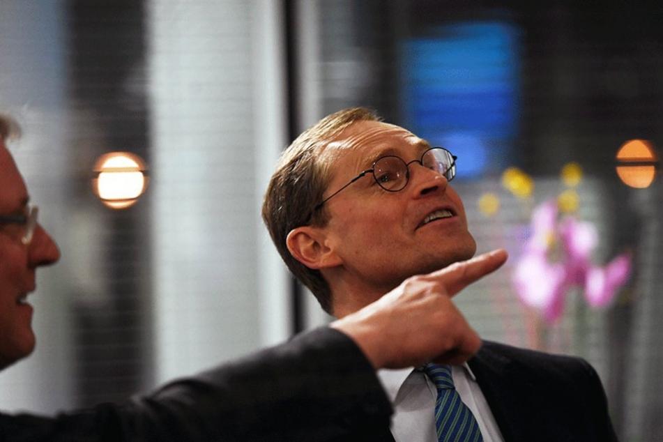 Michael Müller machte sich mit seinem Vorschlag nach mehr Videoüberwachung nicht nur Freunde in der Koalition.