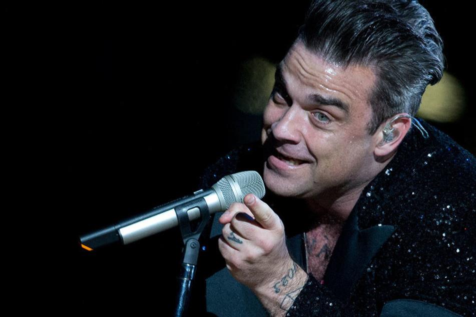 """Am Dienstagabend spielte Robbie Williams im Rahmen seiner """"The Heavy Entertainment Tour"""" in der Waldbühne."""