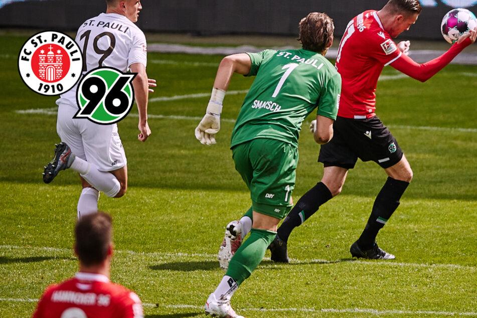 St. Pauli verliert nach dickem Torwart-Patzer gegen Hannover 96