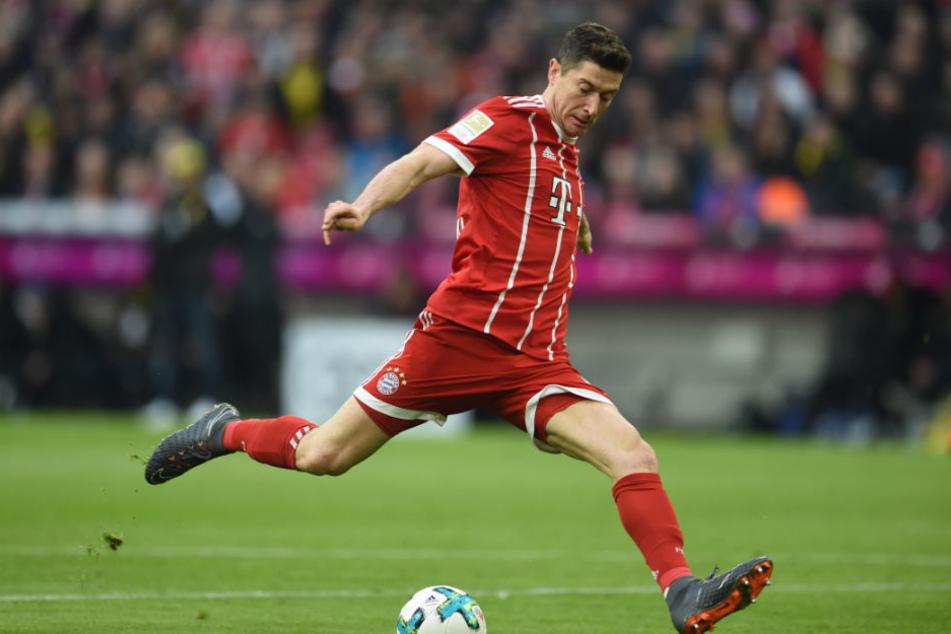 Robert Lewandowski wird auch weiterhin für den FC Bayern München spielen.
