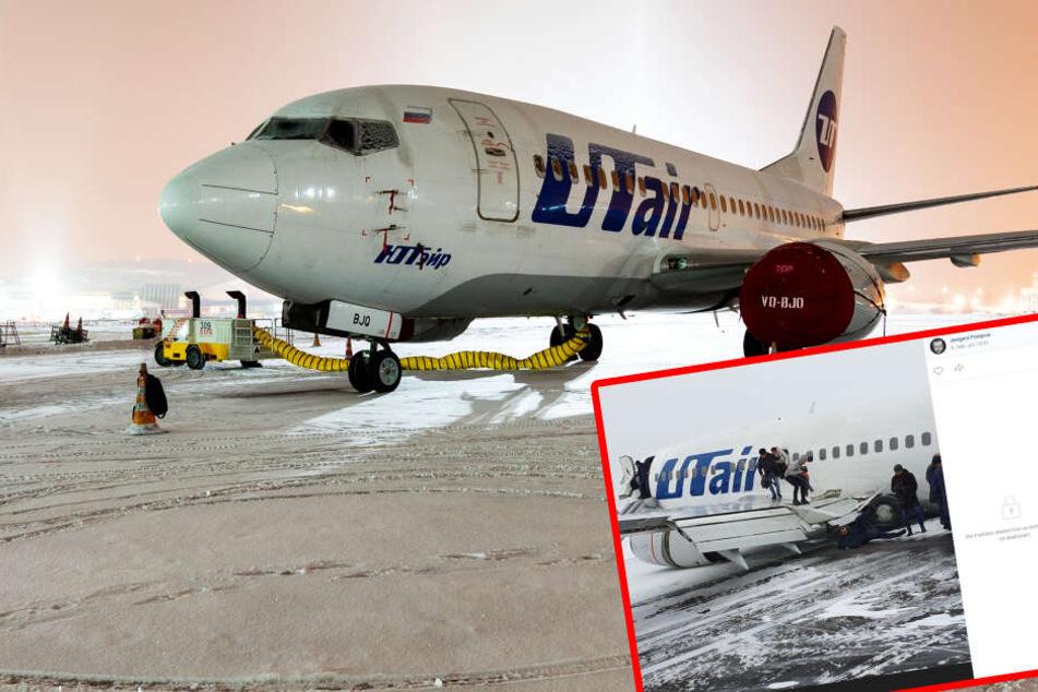 Flugzeug stürzt ab, Passagier filmt die Katastrophe mit seinem Handy!