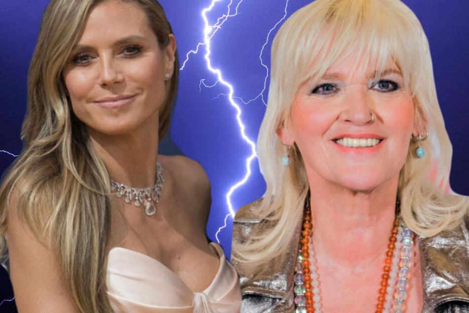 Gaby Köster (57) teilt in ihrem neuen Programm heftig gegen Heidi Klum (45) aus.