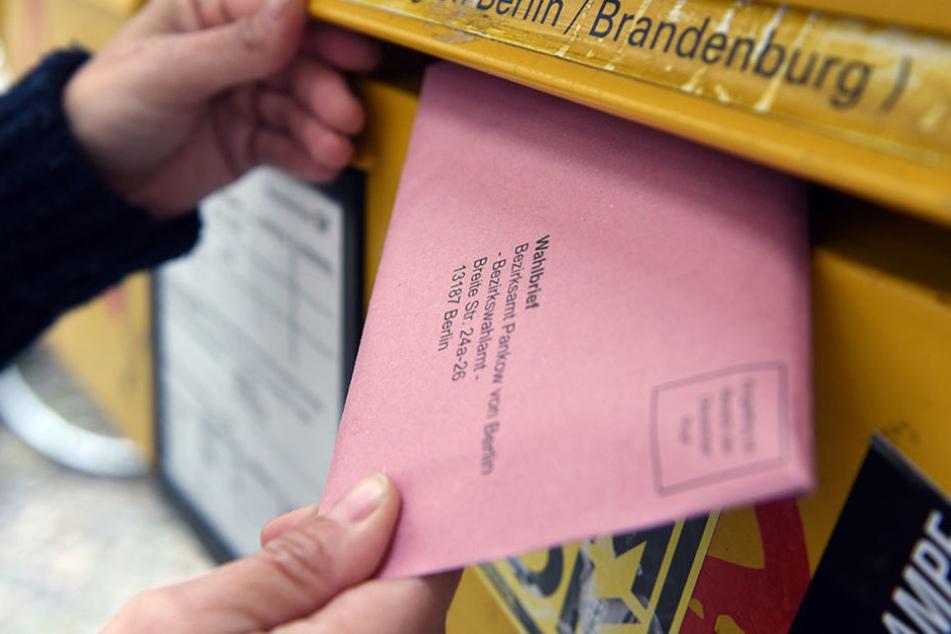 Jeder vierte Berliner beantragte in diesem Jahr die Briefwahl.