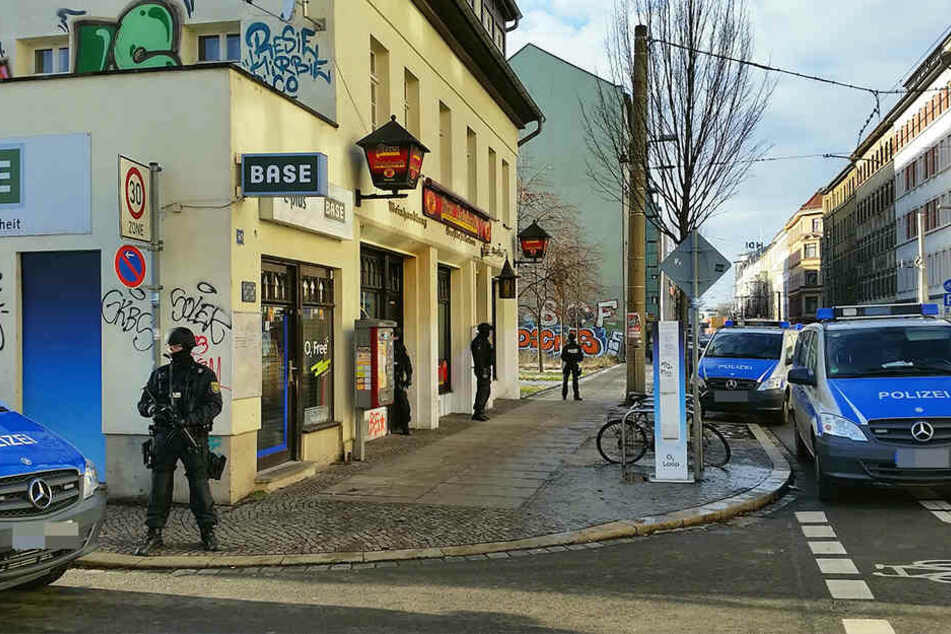 Die Eisenbahnstraße in Leipzig soll Sachsens erste Waffenverbotszone werden.