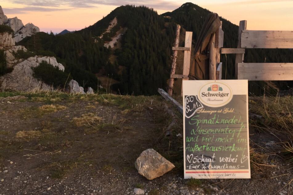 Corona macht erfinderisch: Berghütten lassen sich für Lockdown Besonderes einfallen