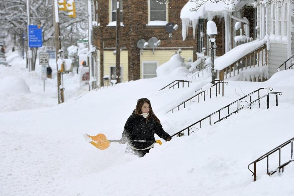 Teile Nordamerikas leiden unter einem heftigen Kälteeinbruch.