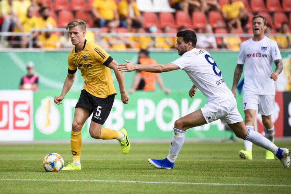 Denis Burnic erzielte das 2:0.