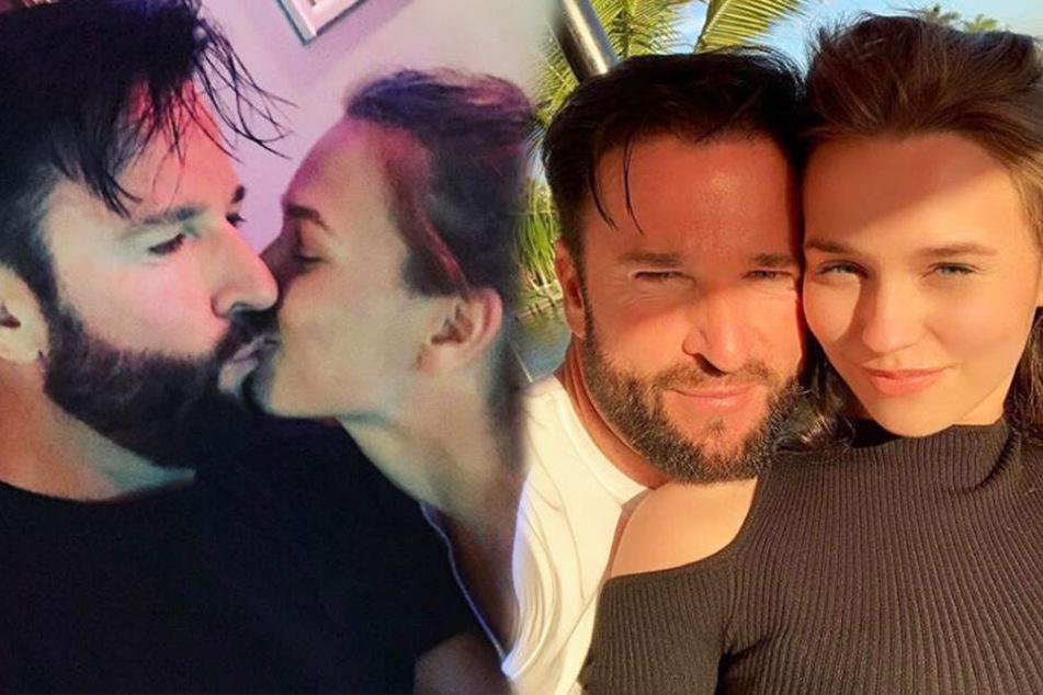 Michael Wendler und seine Laura zeigen sich immer wieder verliebt.