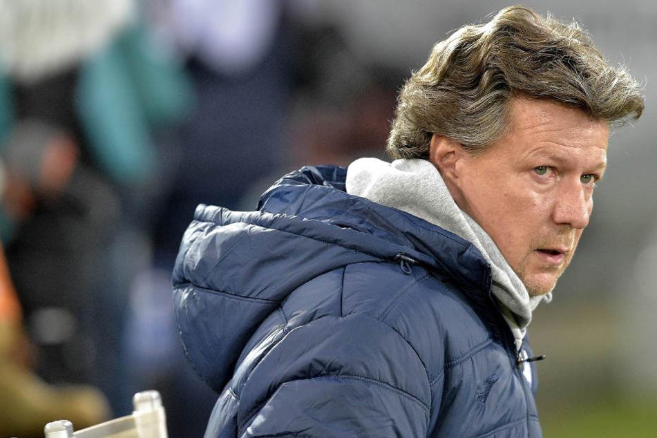 Saibene war mit der Leistung seiner Mannschaft bei Rot-Weiss Essen nicht zufrieden.
