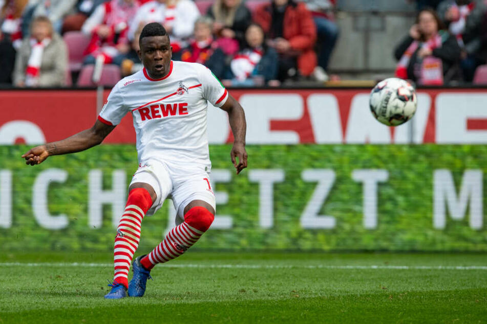 Gegen Holstein Kiel traf Jhon Cordoba sehenswert zum 3:0 (46.).