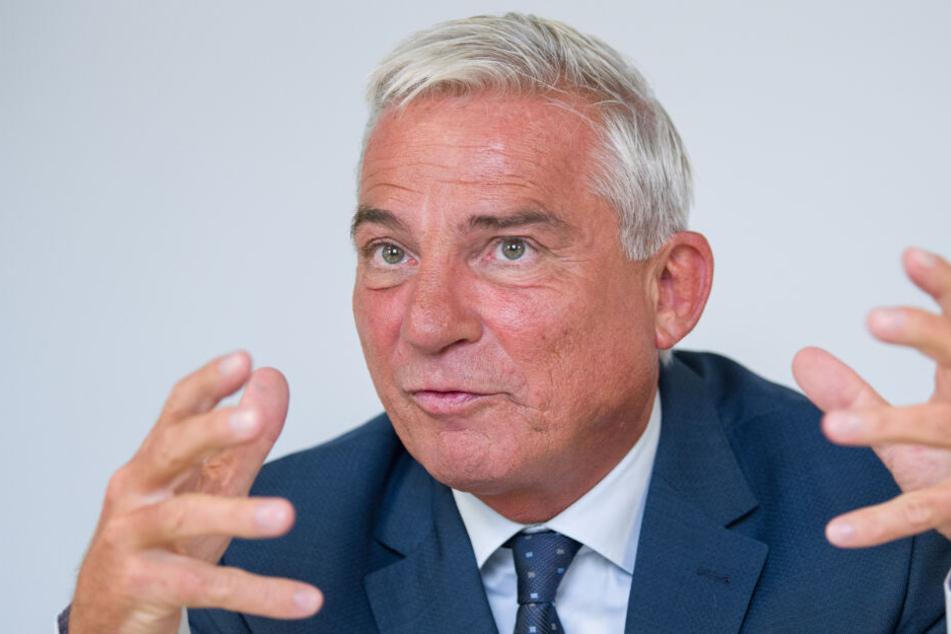 Thomas Strobl (CDU) will über eine Verschärfung des Strafrechts debattieren.