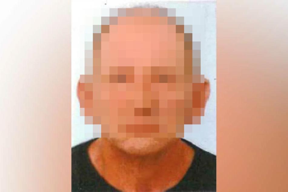 Mit diesem Foto sucht die Polizei Dresden nach dem vermissten Harry T. (64).