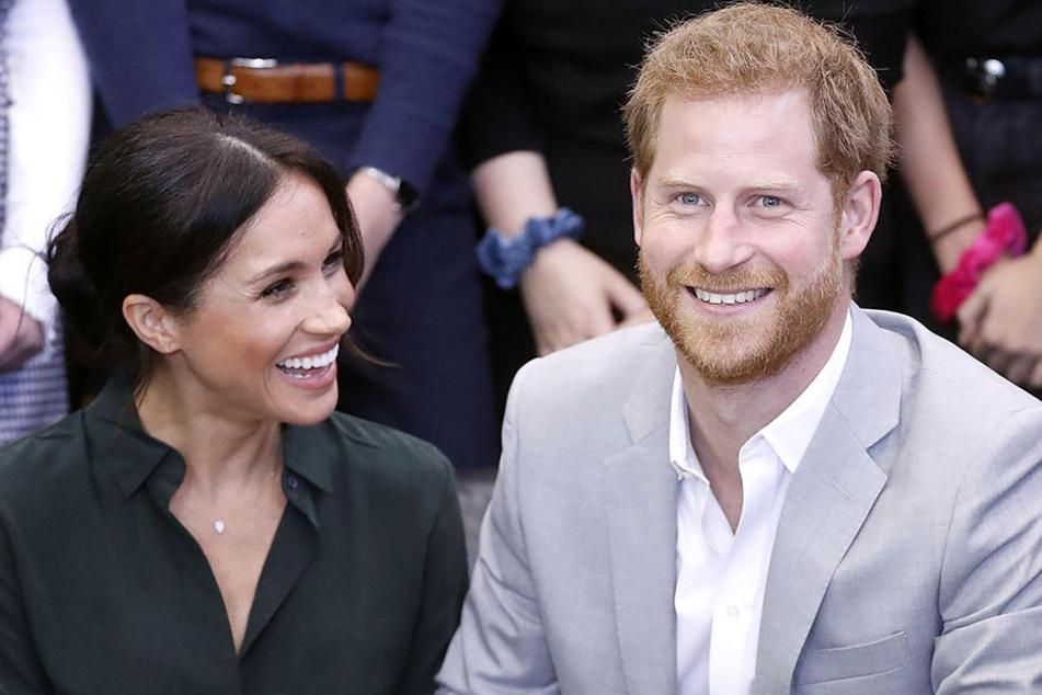 Im nächsten Frühjahr werden Harry und Meghan zum ersten Mal Eltern.