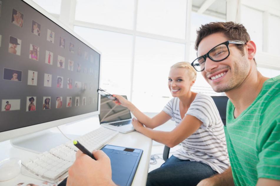 Als Auszubildender zum Gestaltungstechnischen Assistenten solltest Du auf jeden Fall kreativ sein ;-)