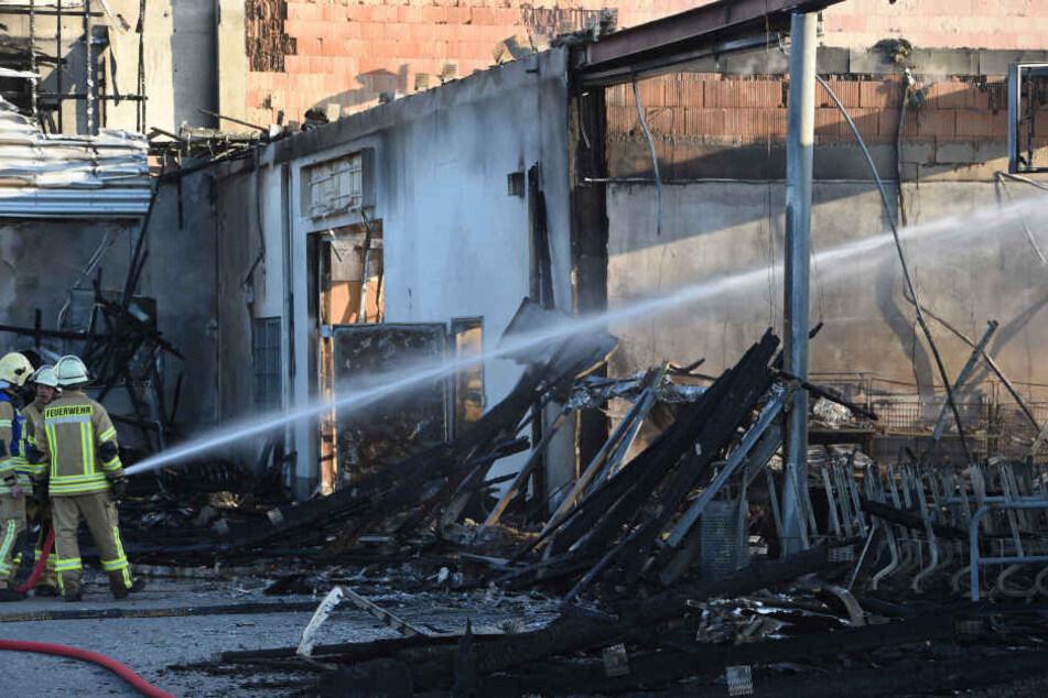 Bei dem Feuer entstand ein Schaden in Millionenhöhe.