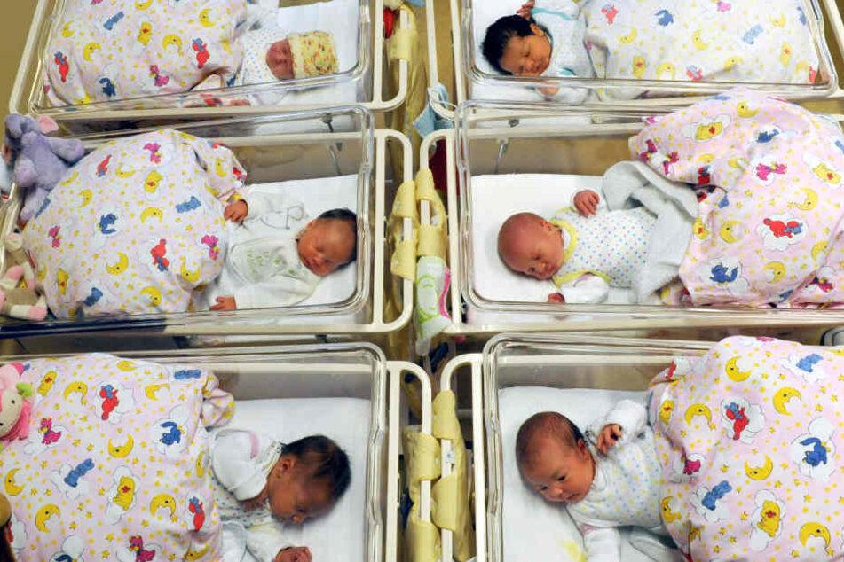 Eine Krankenschwester bemerkte am Donnerstag, dass das Baby verschwunden war. (Symbolbild)