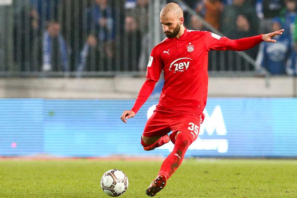 FSV-Kicker Nico Antonitsch.