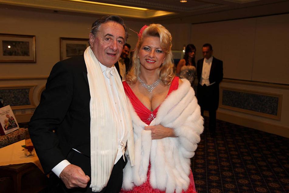 Richard Lugner und seine Ex Sonja in früheren Tagen.