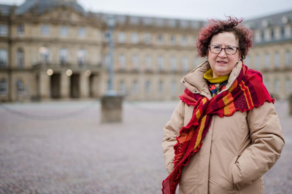 Die Ehefrau des Ministerpräsidenten Gerlinde Kretschmann.