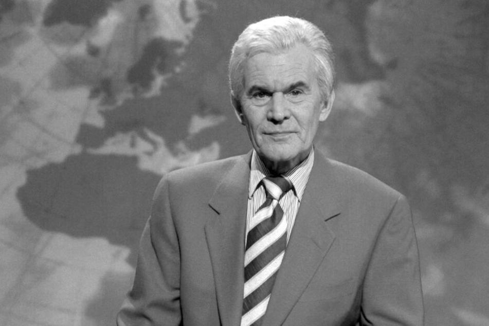 Wilhelm Wieben sprach jahrelang die Nachrichten in der Tagesschau.