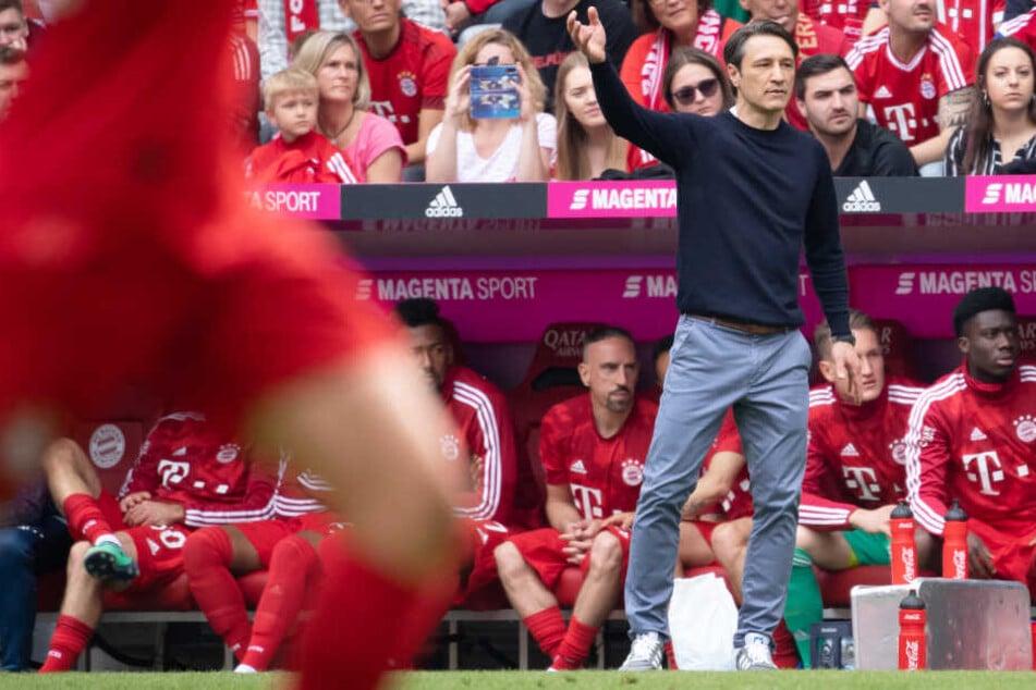 Niko Kovac und der FC Bayern München lagen zur Halbzeit zweifelsohne auf Kurs.