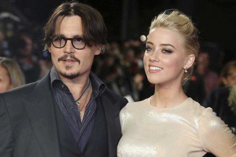 Johnny Depp und seine EX Amber Heard.