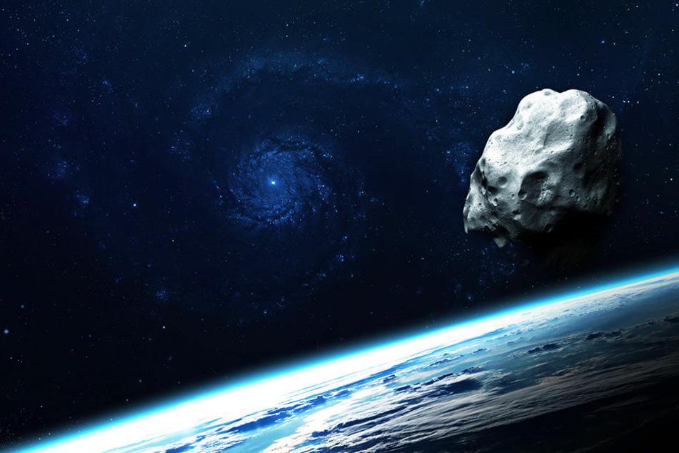Der Asteroid 2018 LF16 könnte frühestens in fünf Jahren auf die Erde treffen. (Symbolbild)
