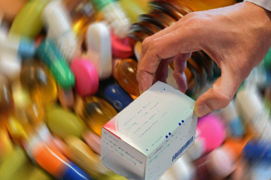 Der unbekannte Täter stahl Medikamente im Wert von über 1000 Euro.