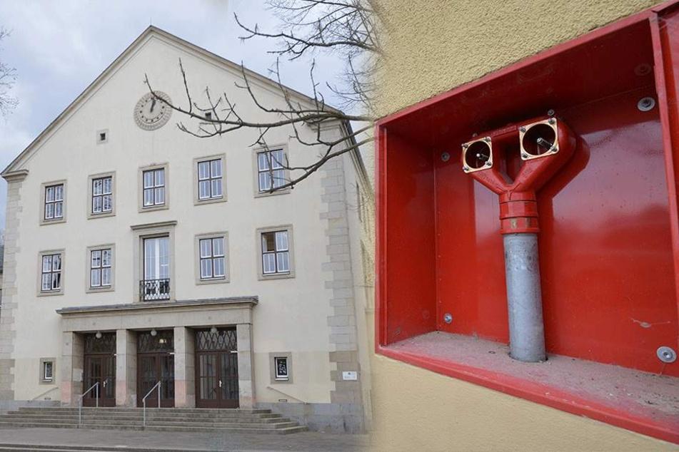 Brandgefährlich: Diebe stehlen Anschlüsse der Feuerwehr