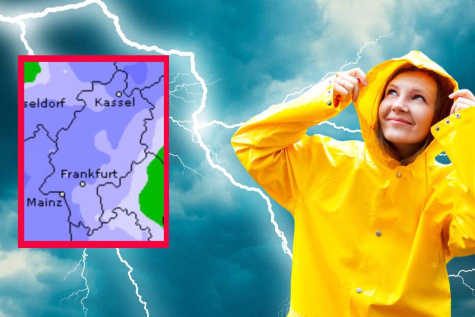 Blitz und Donner! Das Wetter in Frankfurt und ganz Hessen