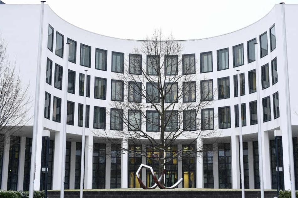 Karlsruhe: Das Gebäude der Bundesanwaltschaft. (Symbolbild)