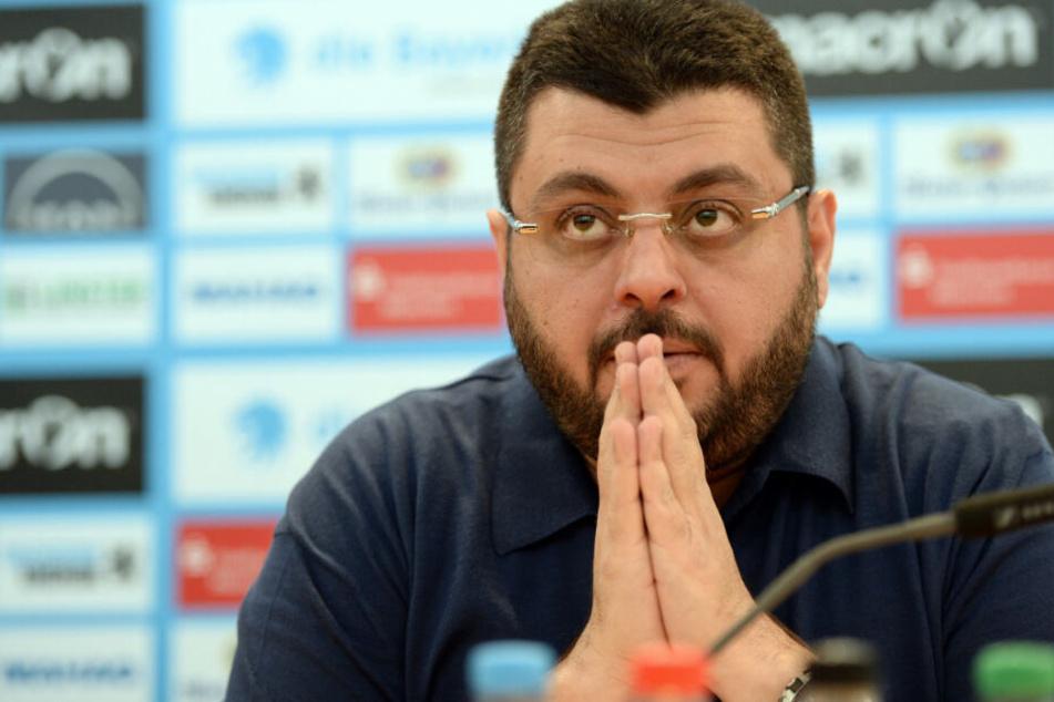 Investor Hasan Ismaik ist bei vielen Fans des TSV 1860 München heftig umstritten.