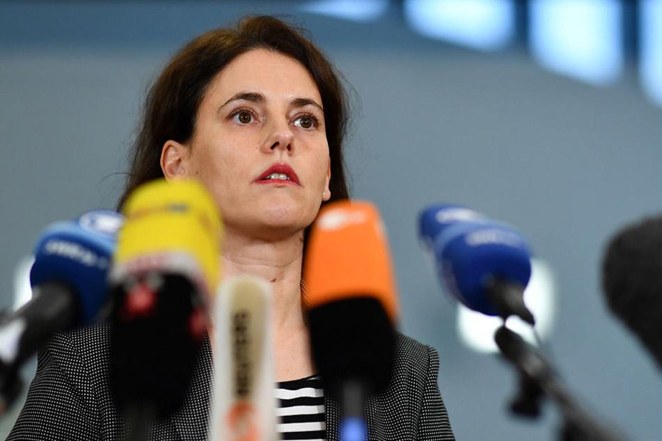Frauke Köhler, die Sprecherin der Bundesanwaltschaft in Karlsruhe informierte am Mittwoch über die neuesten Entwicklungen.