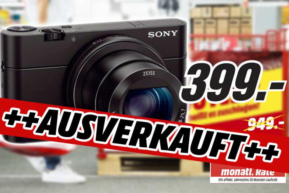 Die geniale Kamera von Sony - im Fan-Outlet nach wenigen Minuten bereits ausverkauft!