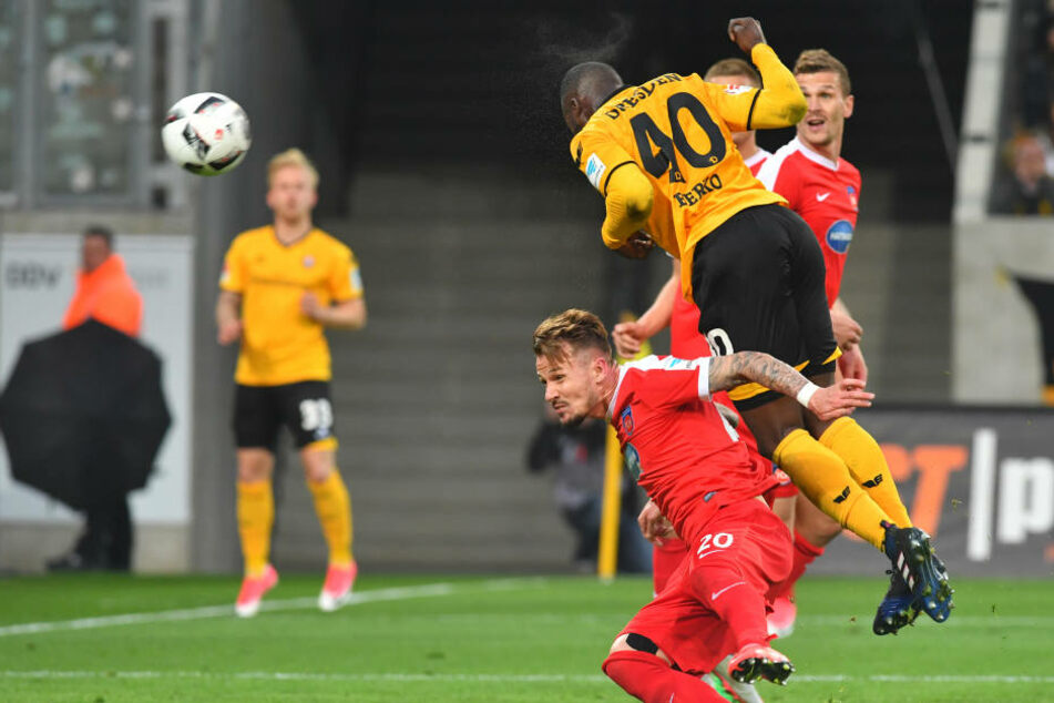 Erich Berko leitete mit seinem Treffer zum 1:1 die Aufholjagd ein.