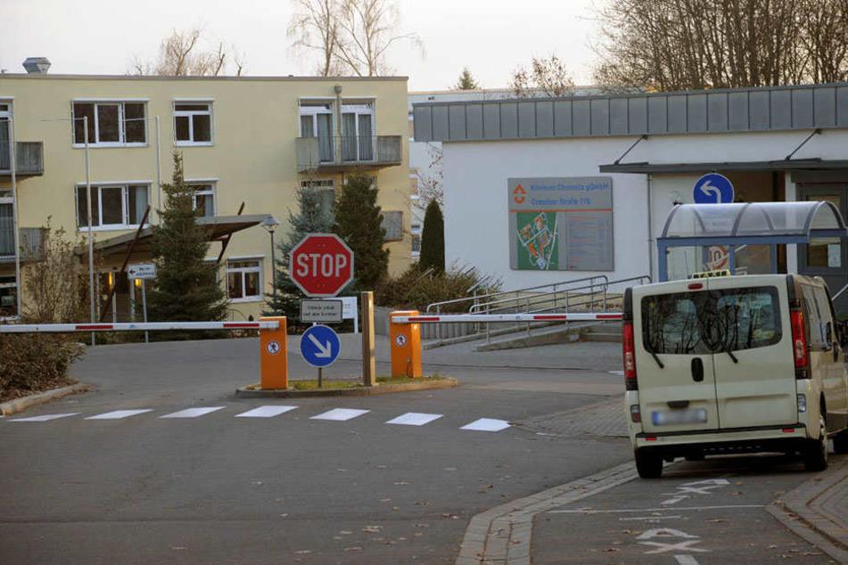 Im Klinikum an der Dresdner Straße brach ein Feuer aus (Archivfoto).