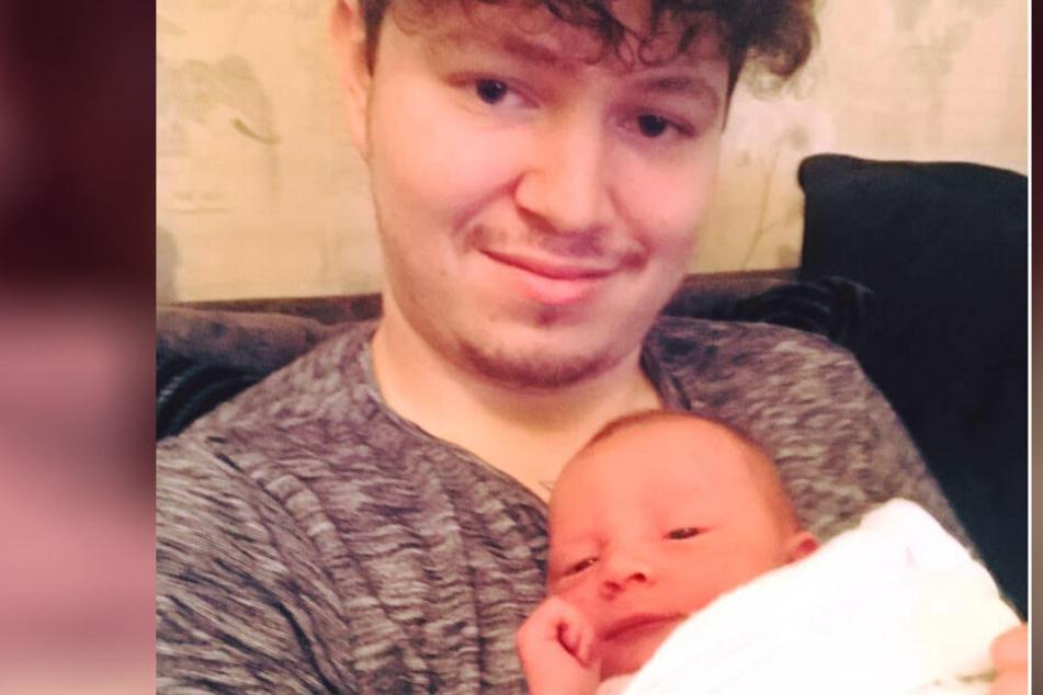 Adam ist mit nur 25 Jahren nun alleinerziehender Vater.