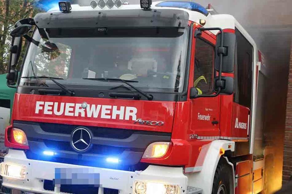 Die Feuerwehr musste zur spektakulären Rettungsaktion ausrücken (Symbolbild)