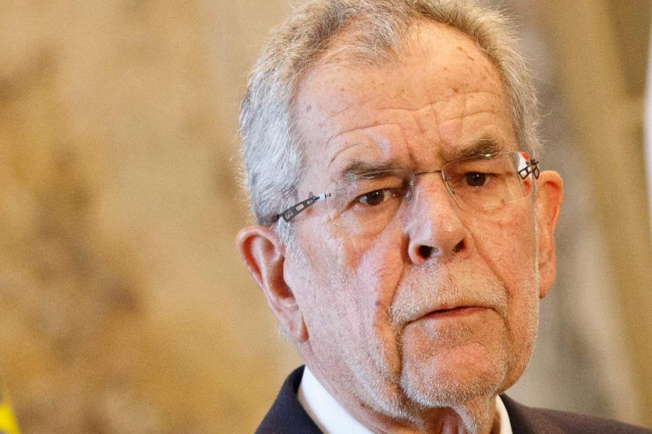 """Österreichs Bundespräsident Alexander Van der Bellen (73): """"Es war mein Fehler, wenn man so will."""""""