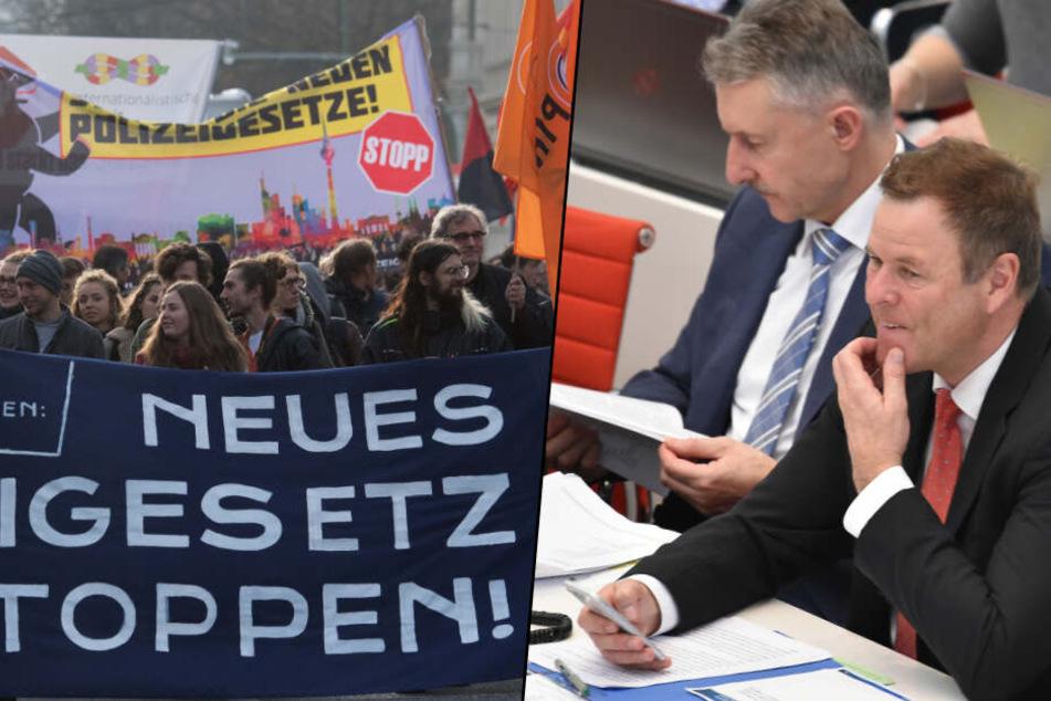 Brandenburger Landtag beschließt umstrittenes Polizeigesetz