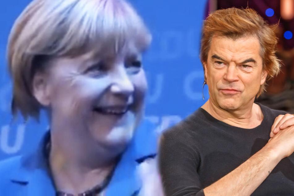 """Angela Merkel entschuldigt sich bei Campino für """"schreckliches"""" Lied-Cover"""