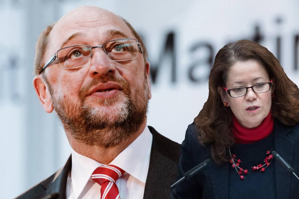 """""""Kein Ministeramt""""! SPD-Politikerin fordert Verzicht von Martin Schulz"""