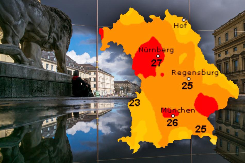 Sonne oder Regen? So wird das Wetter in Bayern in den nächsten Tagen