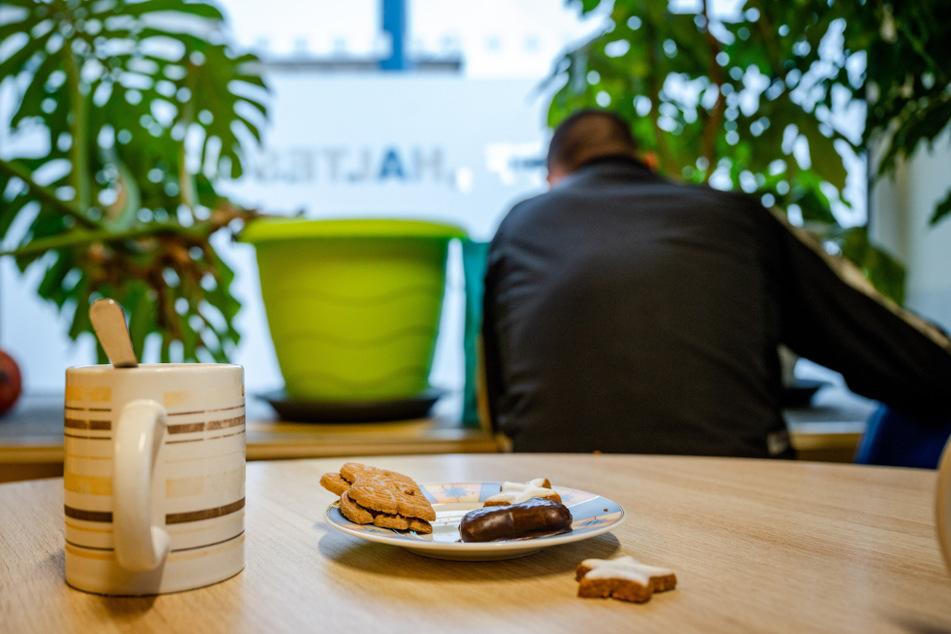 Die Einrichtung der Diakonie bietet die Möglichkeit, etwas zu essen, Kaffee zu trinken oder auch zu duschen.