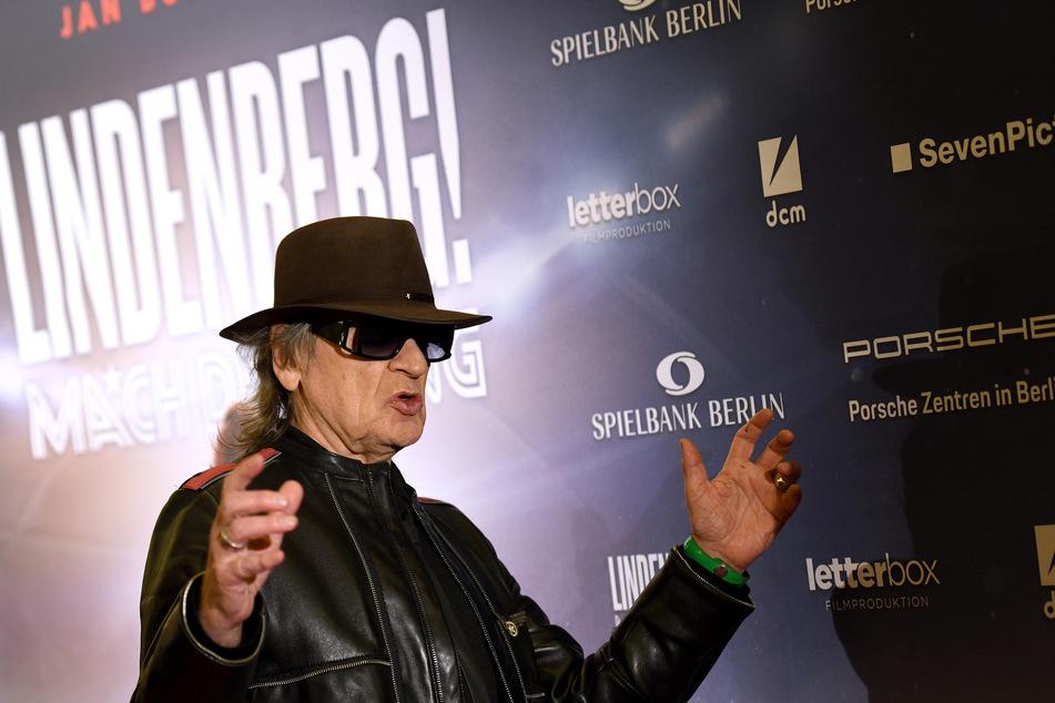 Udo Lindenberg wird am Montag 75 Jahre alt.