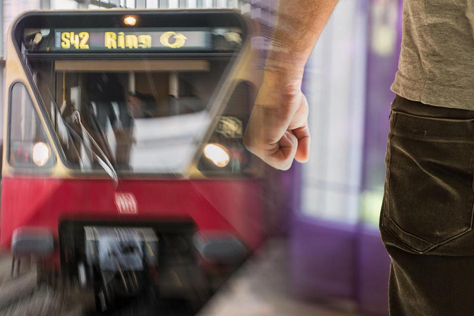 Zwei Fahrgäste wurden am Mittwoch bei einer Attacke in einer S-Bahn leicht verletzt. (Symbolbild)