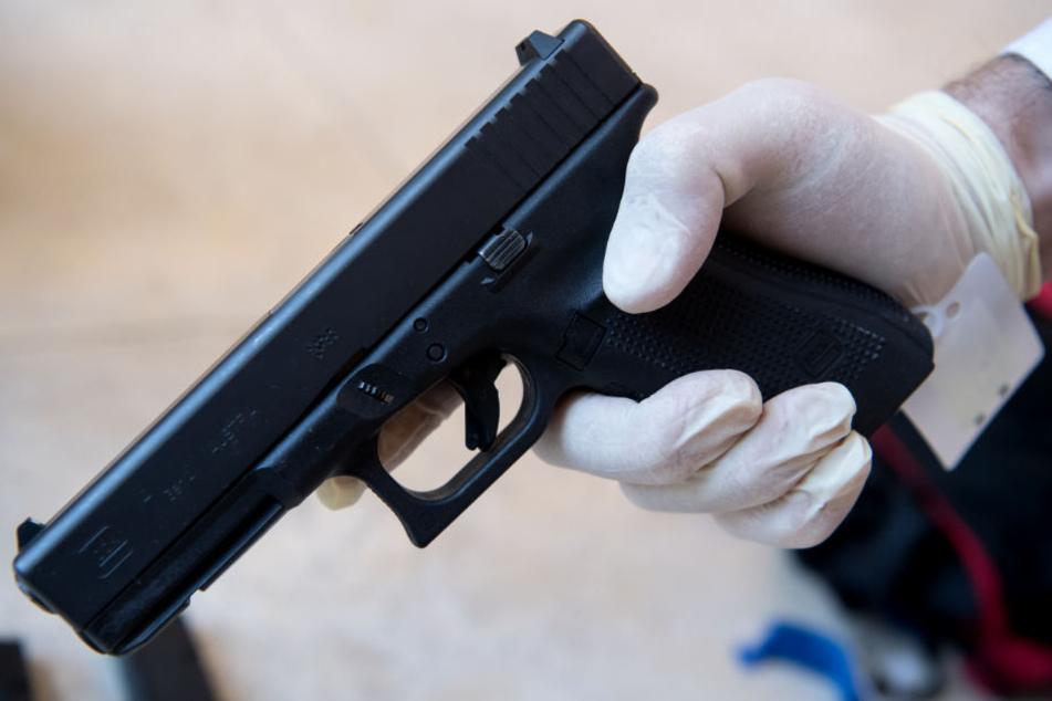 Mit dieser Pistole erschoss David S. neun Menschen und richtete sich selbst.