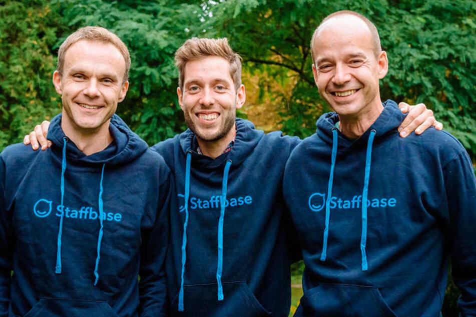 Die Firmengründer (v.l.): Frank Wolf, Martin Böhringer, Lutz Gerlach.