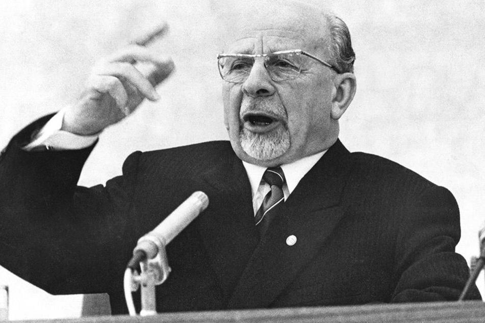 Walter Ulbricht war früherer Staatsratvorsitzender der DDR.
