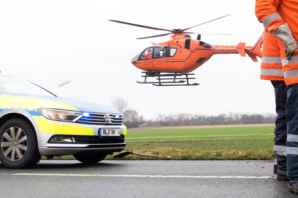 Eine 66-Jährige musste auf schnellstem Weg in eine Klinik gebracht werden (Symbolbild).